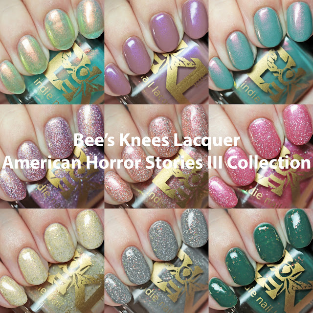 Bee's Knees Lacquer American Horror Story III Collection
