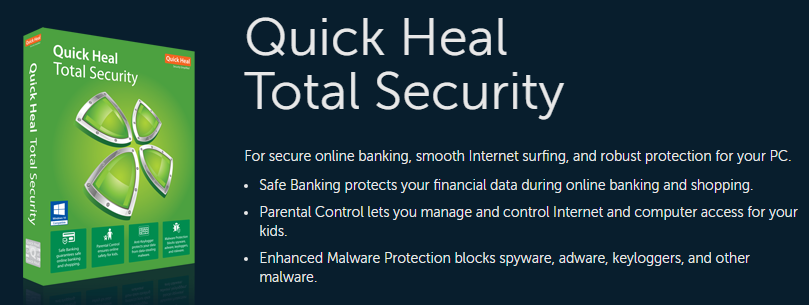 Quick Heal Antivirus Pro 2018 Overview