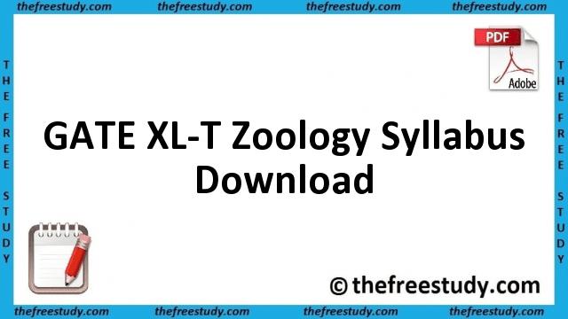 2014 2015 zoology syllabus
