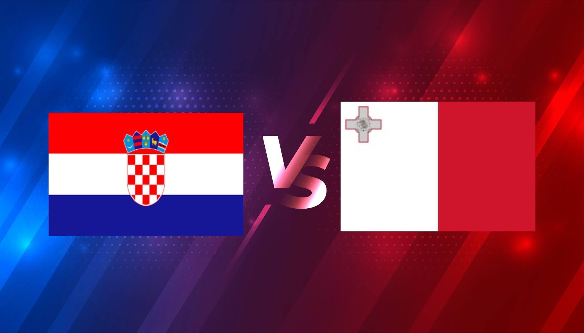 بث مباشر مباراة كرواتيا ومالطة