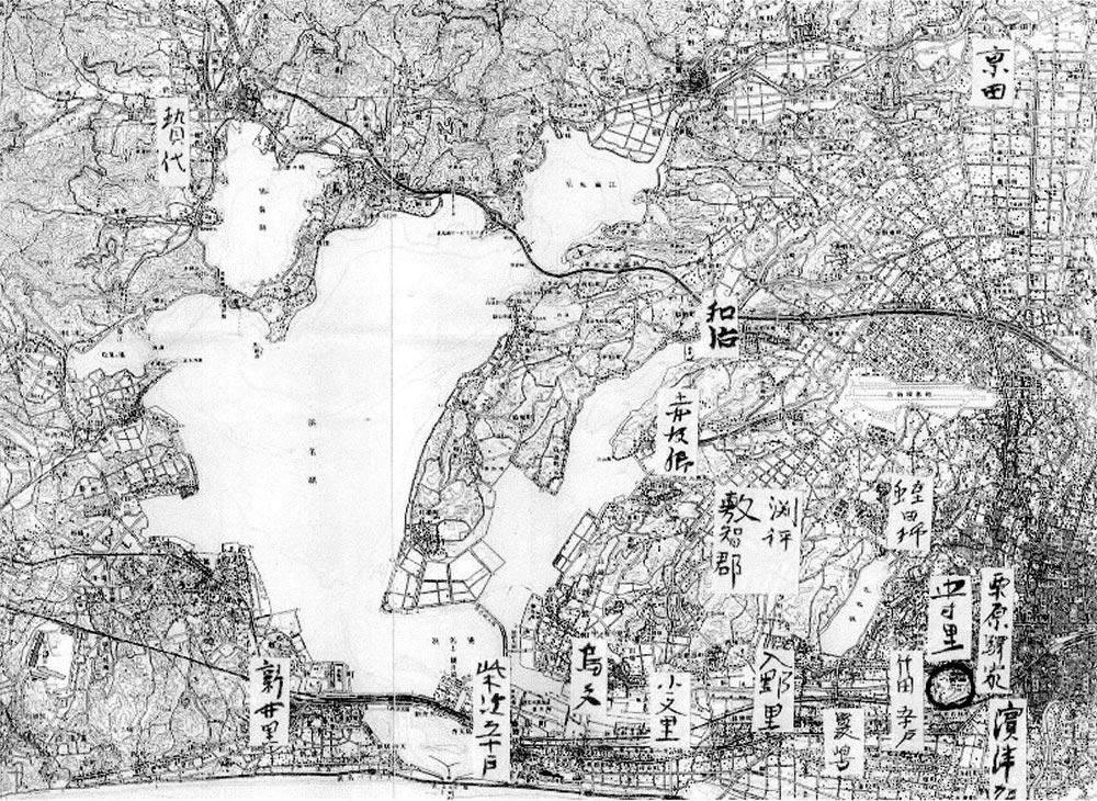 2017年5月13日講義資料「伊場木簡 I ー年代・地名・人名についてー」より転載