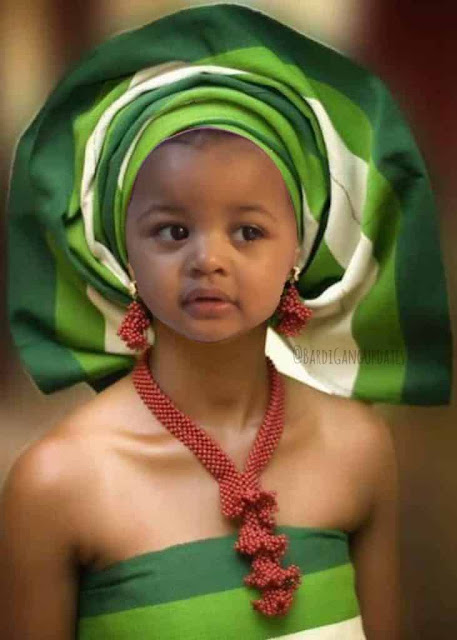 Rapper Cardi B reacts to manipulated image of her daughter Kulture in 'iro & gele'