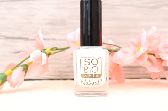 vernis blanc so bio étic