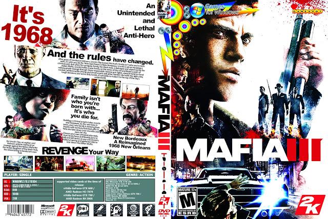 Capa Mafia III PC