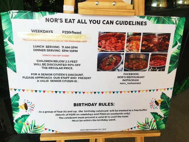 Nors Eat All You Can Mactan Town Center Lapu Lapu City Cebu