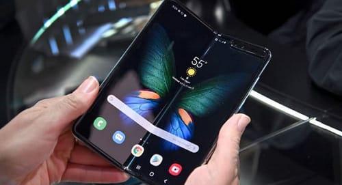 Galaxy Z Fold 3 broken screen repair costs