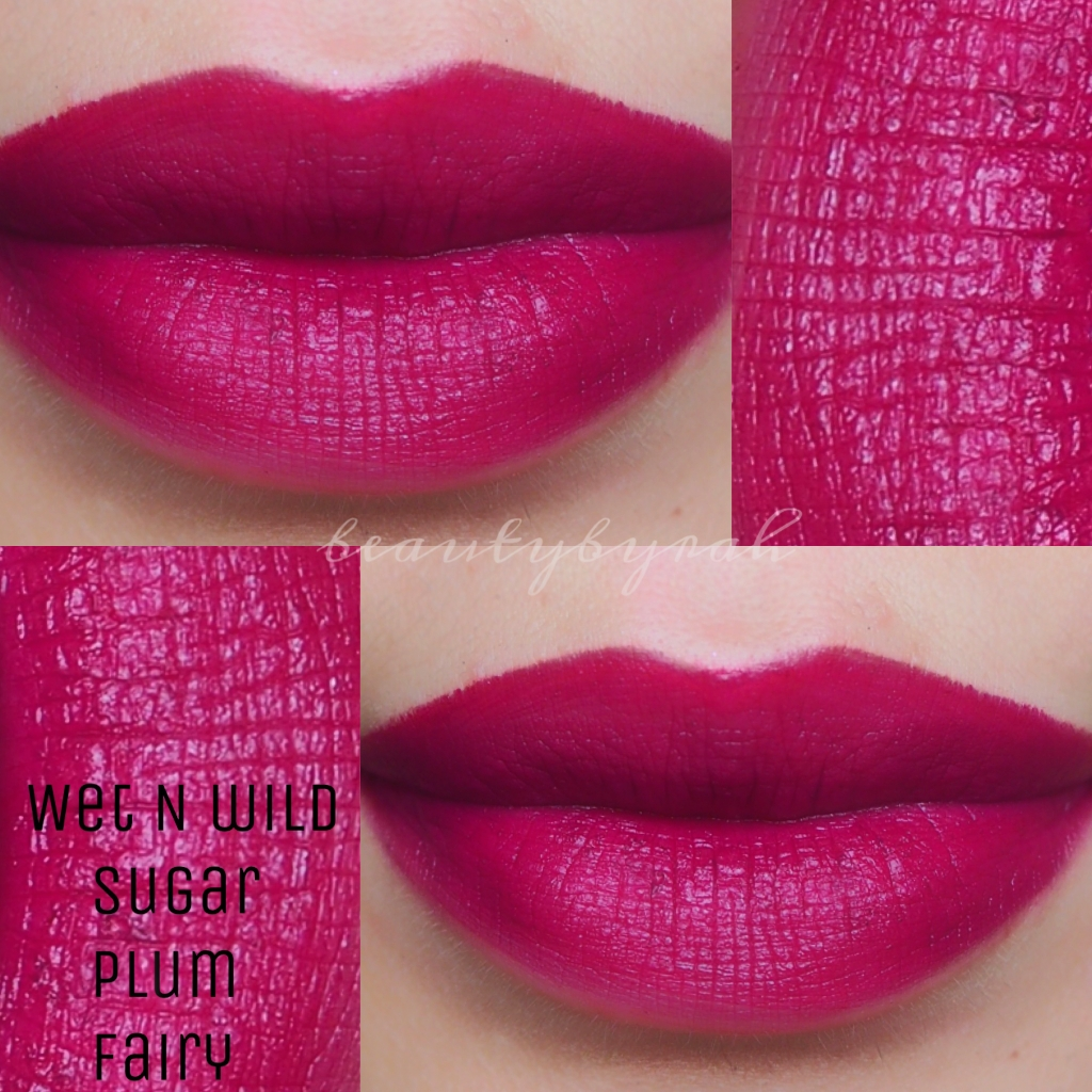 Review and Swatch | Wet N Wild Megalast Lipstick in Sugar Plum ...