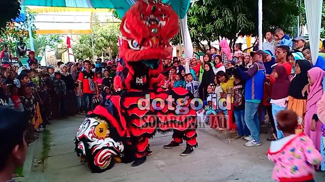 Sejarah Baringsai Tarian Singa asal negeri China Tiongkok yang masuk ke Indonesia