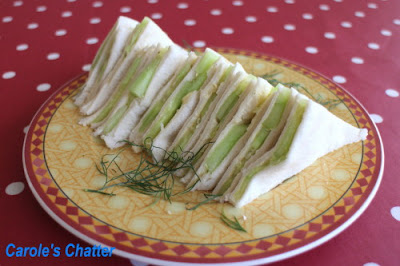 Carole's Chatter: Lady Sandwiches – Aimed for Dainty (never really achieved)