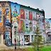 Słupsk: Piękny, ogromny mural w centrum staje się nową wizytówką miasta