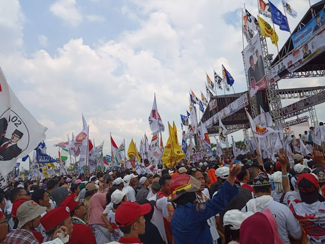 Sekali Tepuk, Dua Kota Terguncang! Puluhan Ribu Rakyat Bogor Inginkan Perubahan Bersama Prabowo