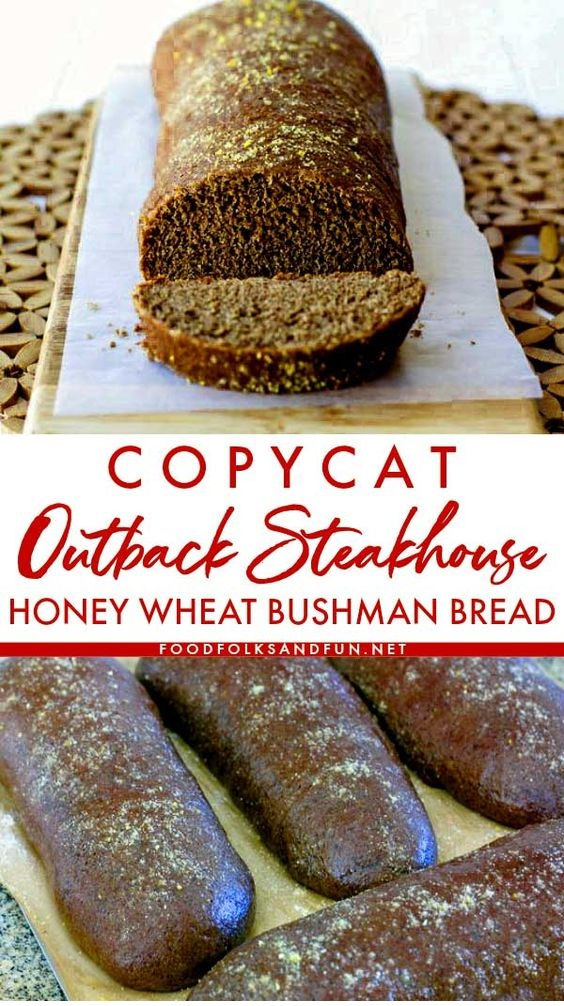 Honey Wheat Bushman Bread Recipe
