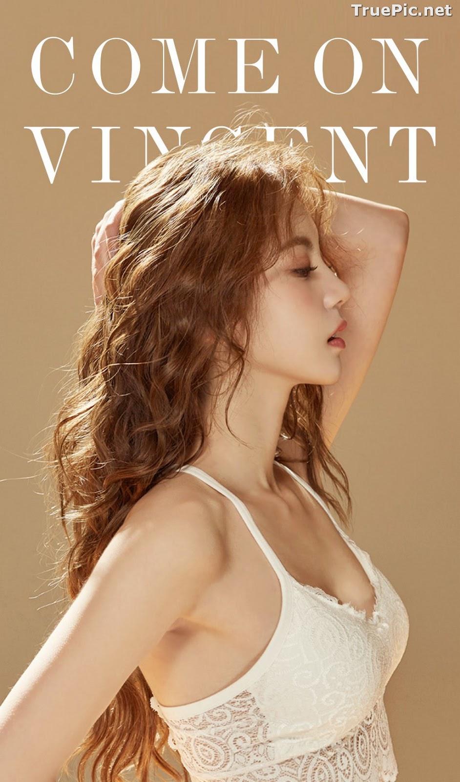 Image Korean Fashion Model – Lee Chae Eun (이채은) – Come On Vincent Lingerie #7 - TruePic.net - Picture-1