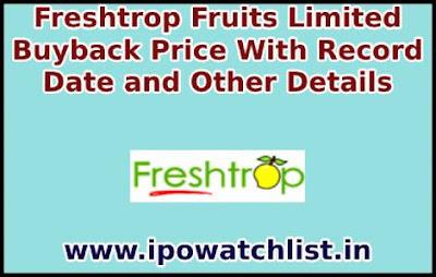 Freshtrop fruits buyback
