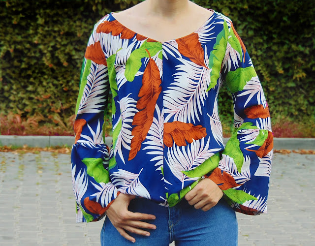how to sew a blouse boho
