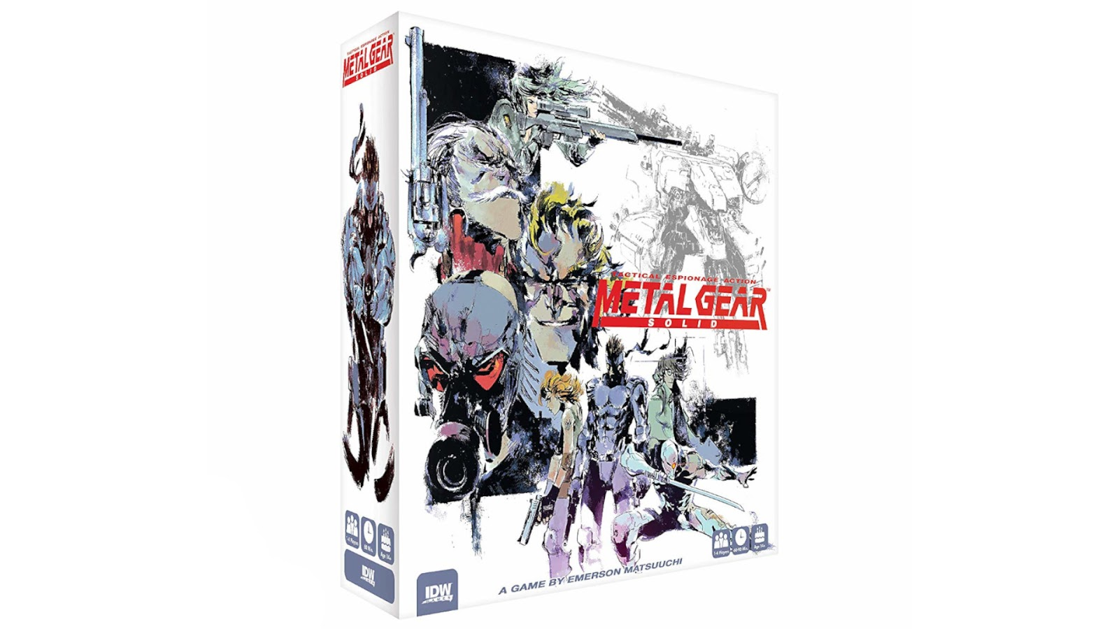 News Collider Board Game Metal Gear Solid