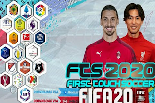 FTS 2020 MOD FIFA 20 BEST HD +Data OBB