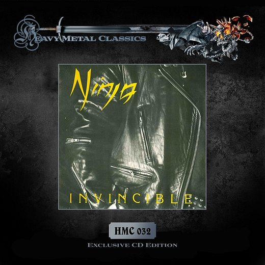 NINJA - Invincible [remastered numbered reissue] full