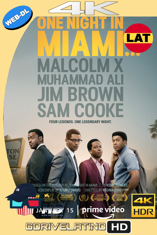 Una Noche en Miami… (2021) AMZN WEB-DL 4K HDR Latino-Ingles MKV