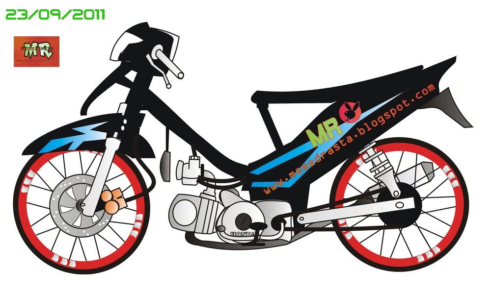 Gambar Kartun Motor Matic Wwwpicswecom