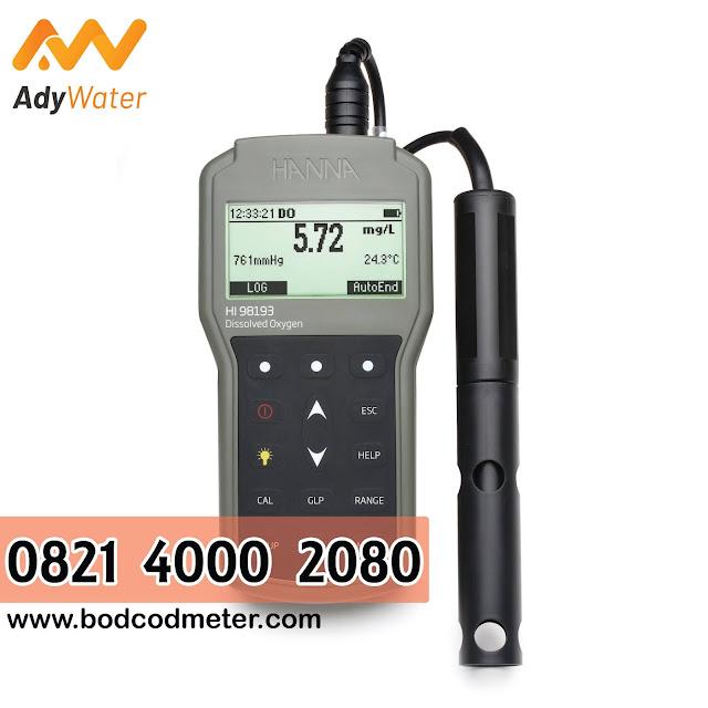 0821 4000 2080 Ady Lab-Ady Water Jual BOD - DO Meter Portable Hanna HI98193 Di Jakarta