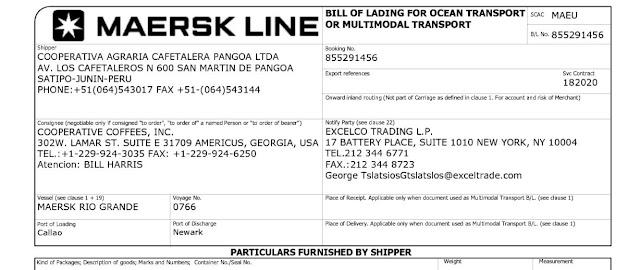 Conocimiento de embarque y compraventa internacional de mercaderias