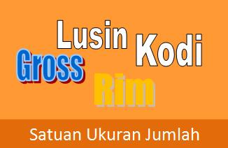 Contoh Soal  Lusin, Kodi, Rim, dan Gross