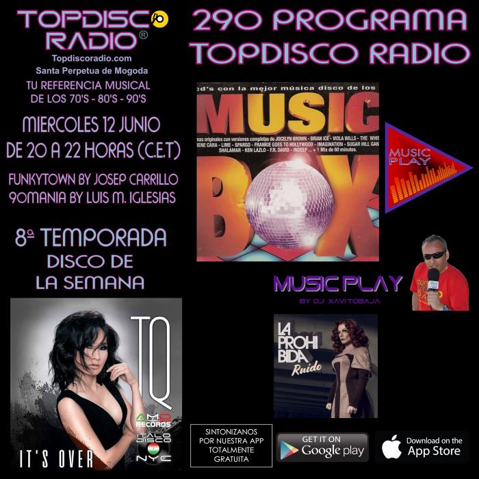 290 Programa Topdisco Radio