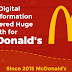 McDonald's Digital Transformation and Why We're All Lovin' It #infographic