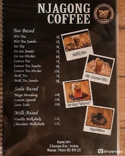 njagong coffee ayam geprek klasik kuliner surabaya foodies blogger sby  timur rungkut ngagel chippeido influencer food endorsement selebgram bensu menu harga