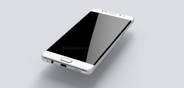 Galaxy Note 7 curved screen
