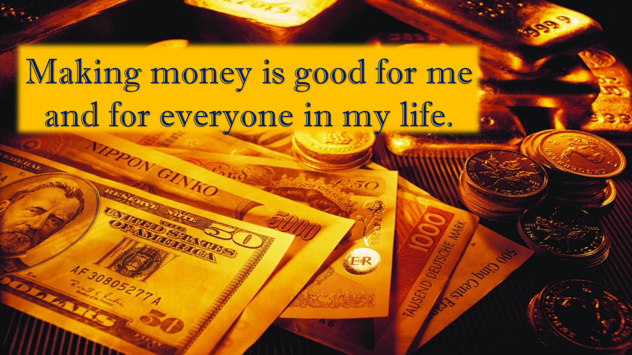 Be Positive Quotes Wallpaper Money Affirmations Everyday Affirmations