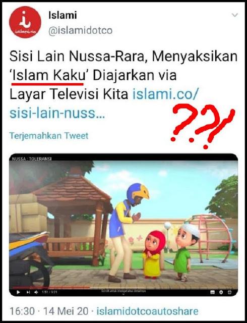 """Film Animasi Nussa-Rara Dituduh """"Islam Kaku"""", Netizen: Tudingan Sampah!"""