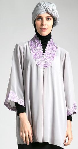 Gambar Baju Muslim Kebaya Untuk Ibu Hamil