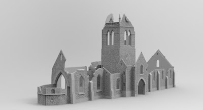 STRETCH GOAL £5500 OPENED LARGE CHURCH RUIN (wip) picture 1