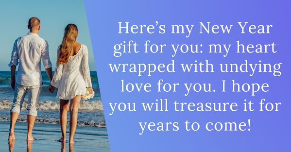 New Year 2021 Wishes for Lover