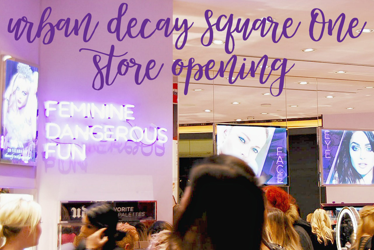 Urban Decay Square One Store Opening