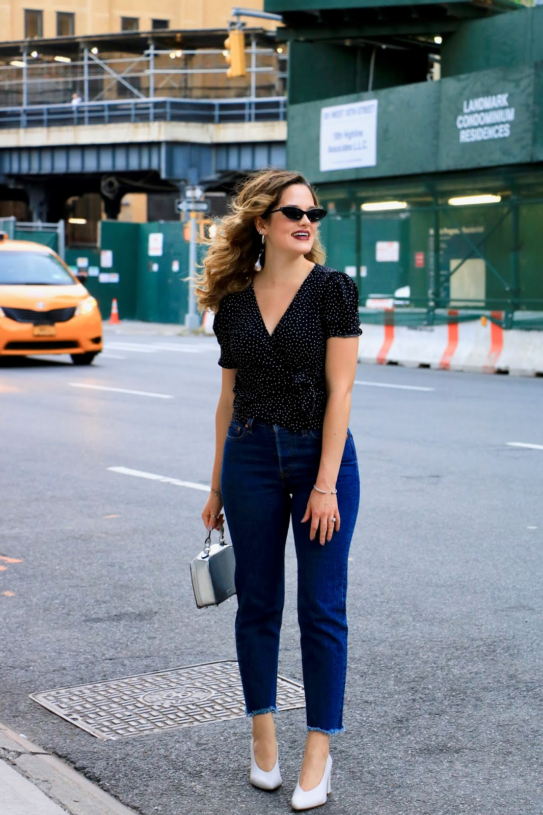Nyc fashion blogger Kathleen Harper at New York Fashion Week 2019.
