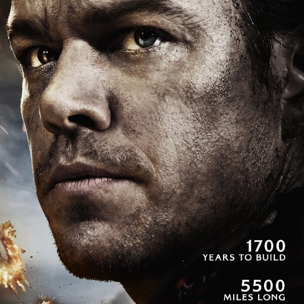 THE GREAT WALL (film) was fun to watch, but definitely not a great movie