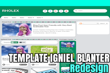 Template Igniel Blanter Redesign