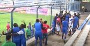 """Jogadores do Bacabal partem para cima de torcedores organizados alegando que foram chamados de """"macacos"""""""