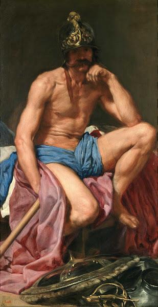 Диего Веласкес - Марс (ок.1641)
