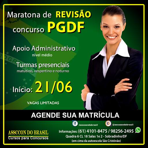 CONCURSO PGDF RETOMADO!