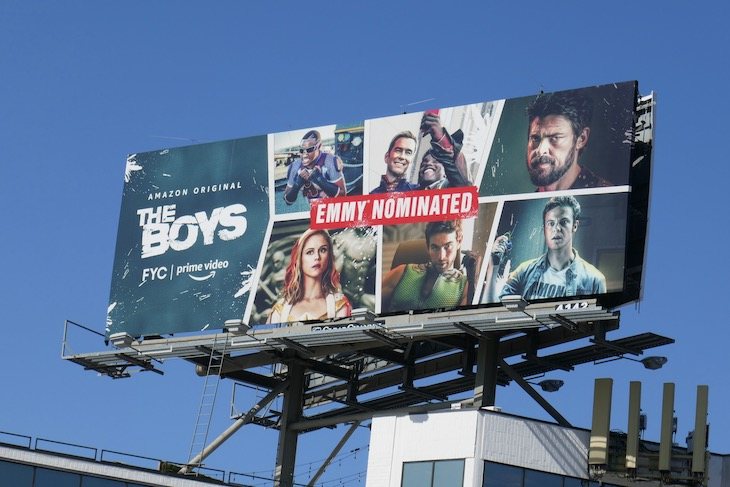 The Boys 2020 Emmy nominee billboard