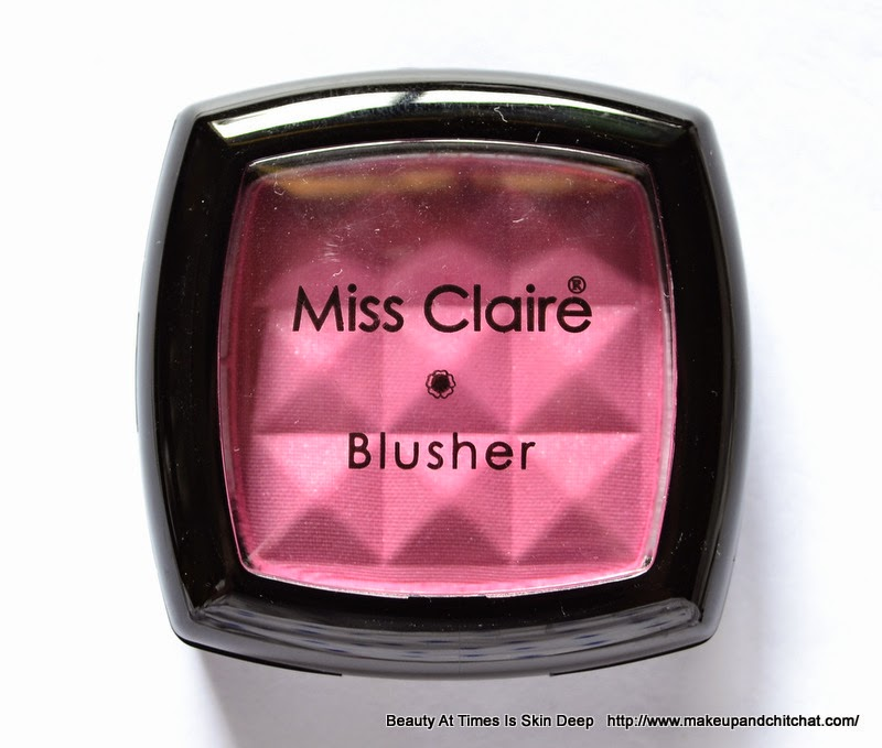 Miss Claire Blusher in India