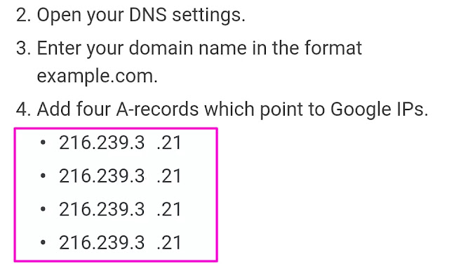 अपनी Blogger में कस्टम डोमेन नेम कैसे जोड़े? Add Custom Domain name