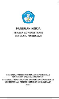 buku panduan tenaga administrasi sekolah 2017