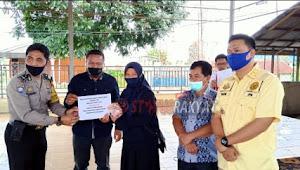 Terlaksana Dengan Baik, Camat Apresiasi Penyerahan BLT-DD Tahap III Desa Sempajaya Kec.Berastagi