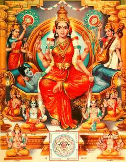 Sri Lalitha Pancharatnam Stotram