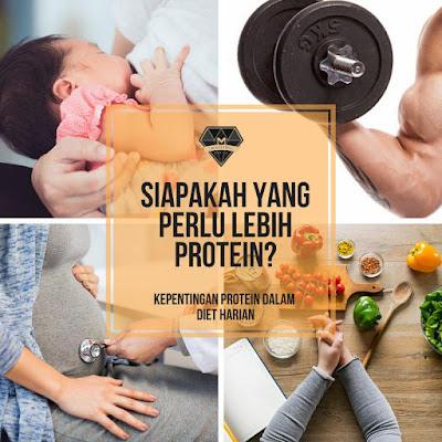 mereka Yang Perlukan Lebih Protein
